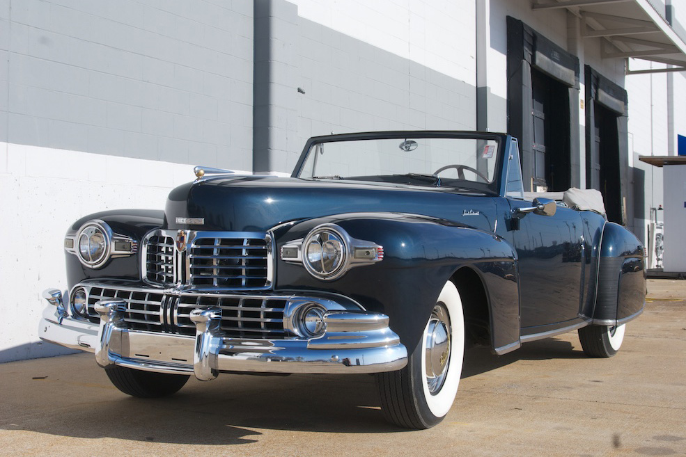 1948 LINCOLN CONTINENTAL CONVERTIBLE - Front 3/4 - 186455