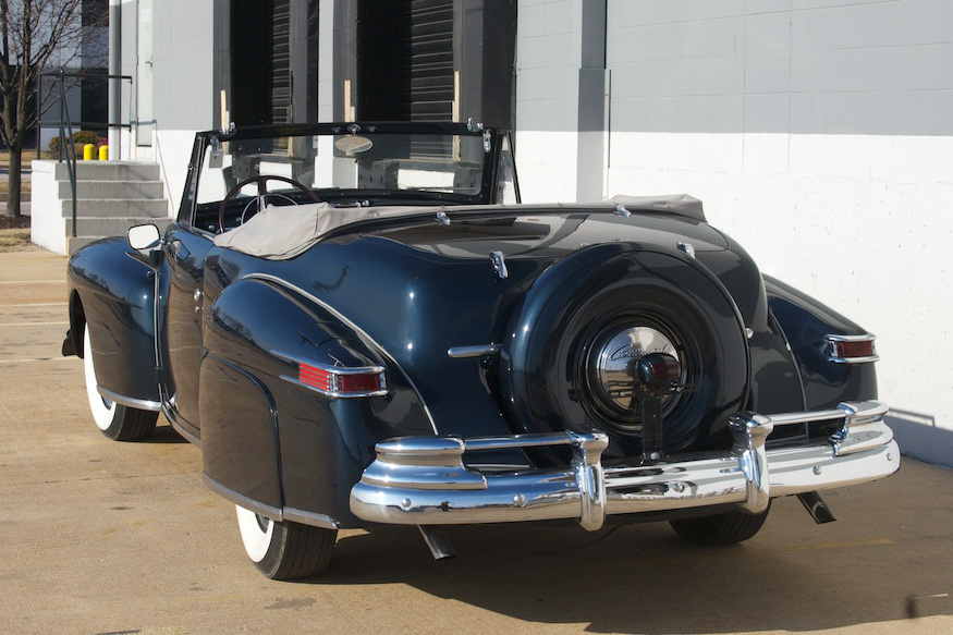 1948 LINCOLN CONTINENTAL CONVERTIBLE - Rear 3/4 - 186455