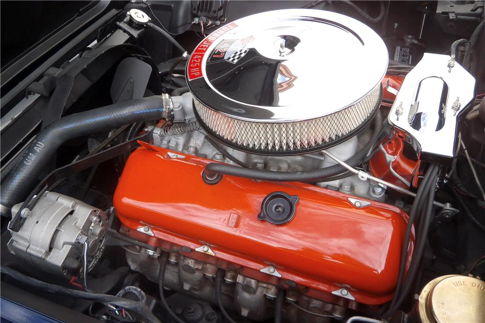 1966 CHEVROLET CORVETTE 427/425 - Engine - 186456