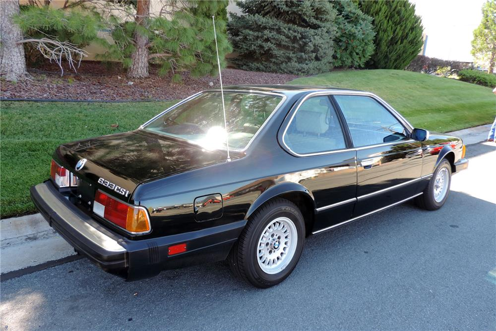 1984 BMW 633 CSI  - Rear 3/4 - 186466