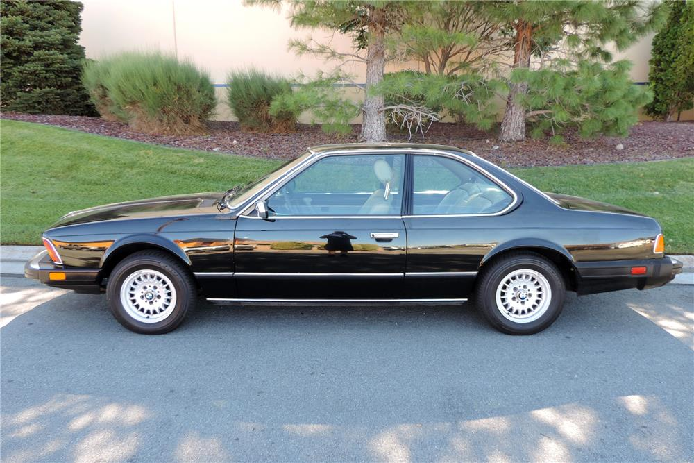 1984 BMW 633 CSI  - Side Profile - 186466