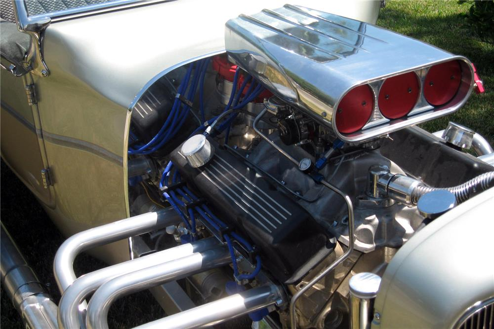 1922 FORD T-BUCKET ROADSTER - Engine - 186475