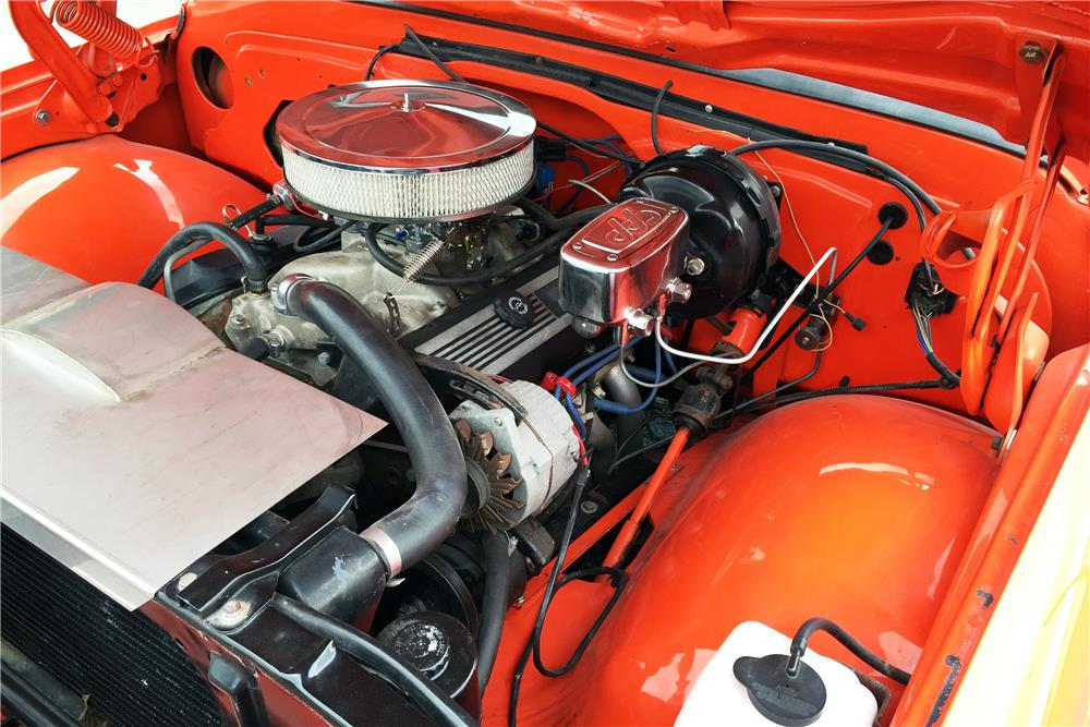 1968 CHEVROLET C-10 CUSTOM PICKUP - Engine - 186478