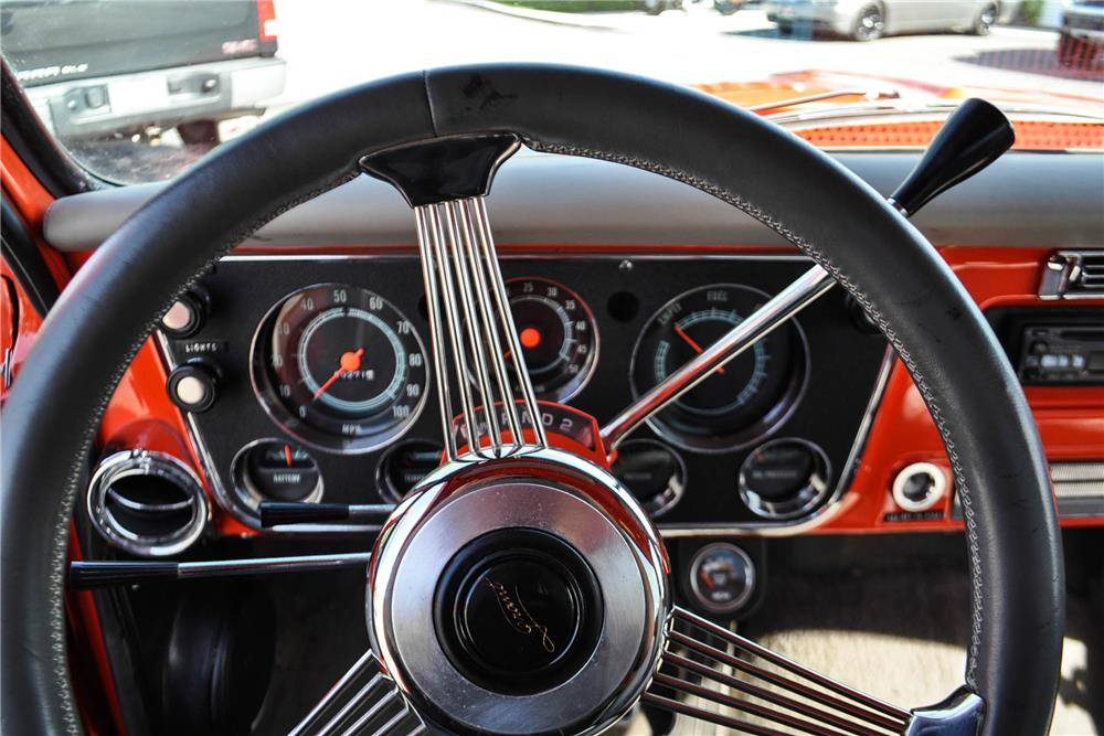 1968 CHEVROLET C-10 CUSTOM PICKUP - Interior - 186478