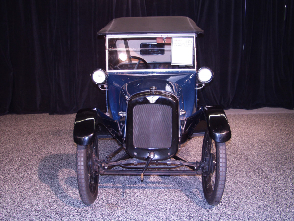 "1923 AUSTIN SEVEN ""CHUMMY"" TOURER - Side Profile - 18663"