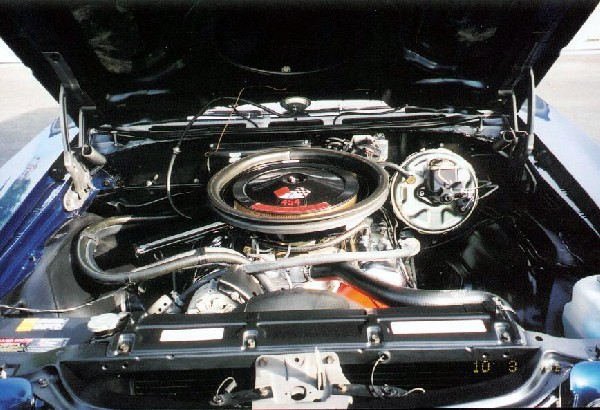 1970 CHEVROLET CHEVELLE LS6 CONVERTIBLE - Engine - 18673