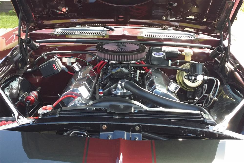 1967 CHEVROLET CAMARO CUSTOM COUPE - Engine - 186819