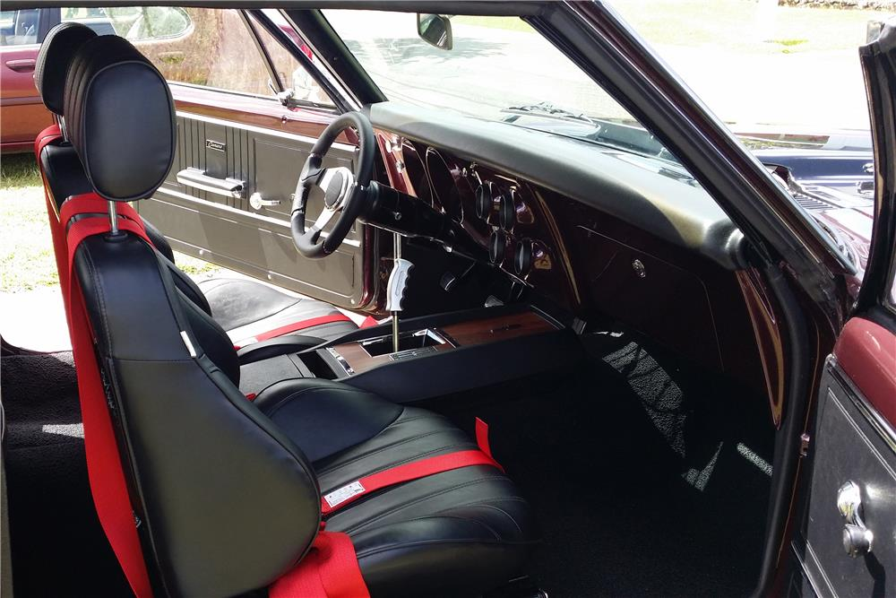 1967 CHEVROLET CAMARO CUSTOM COUPE - Interior - 186819
