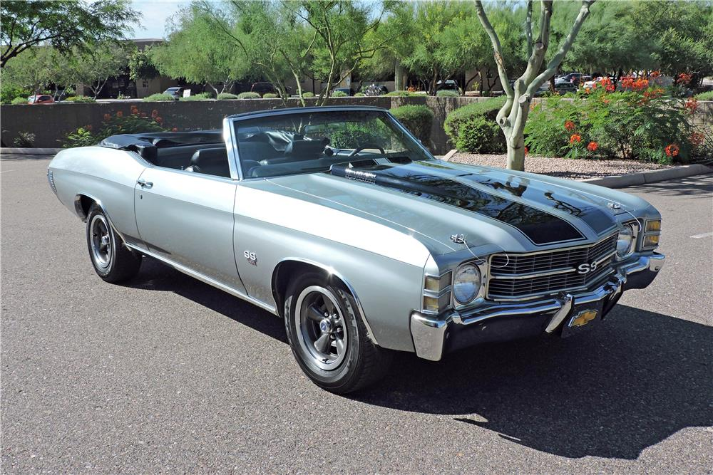 1971 Chevrolet Chevelle Convertible 186835