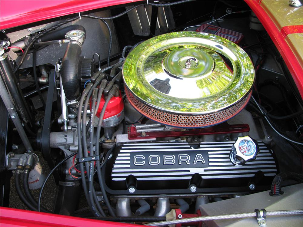 1965 SHELBY COBRA RE-CREATION ROADSTER - Engine - 186840