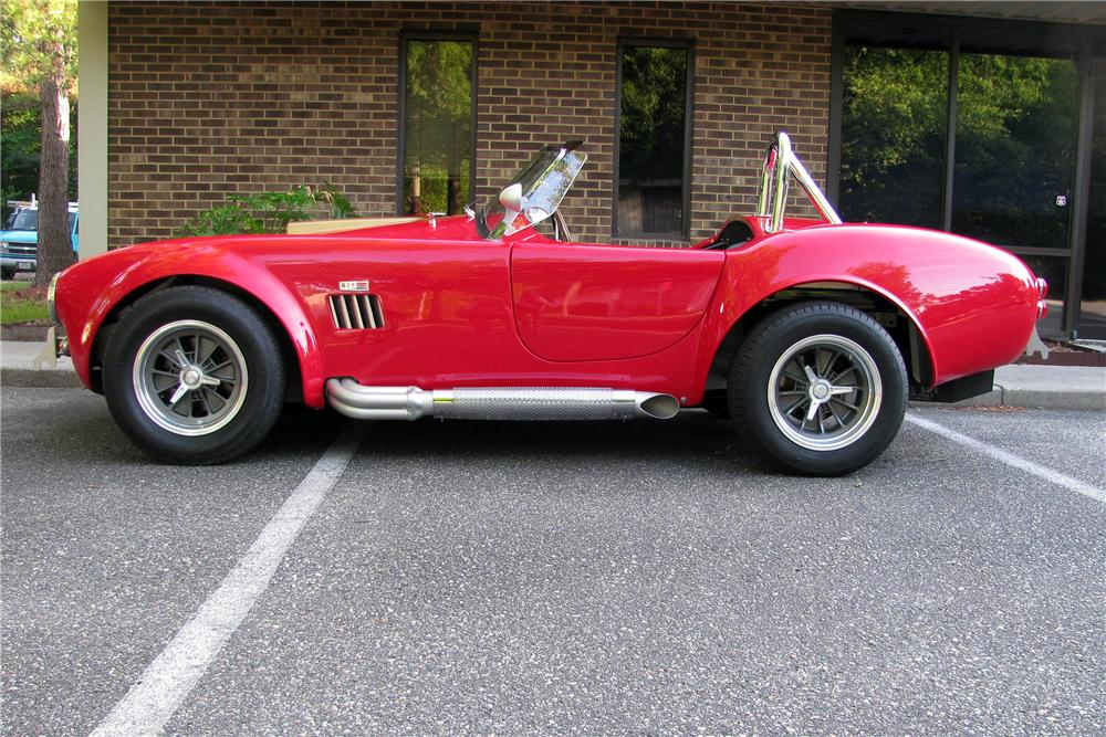 1965 SHELBY COBRA RE-CREATION ROADSTER - Side Profile - 186840