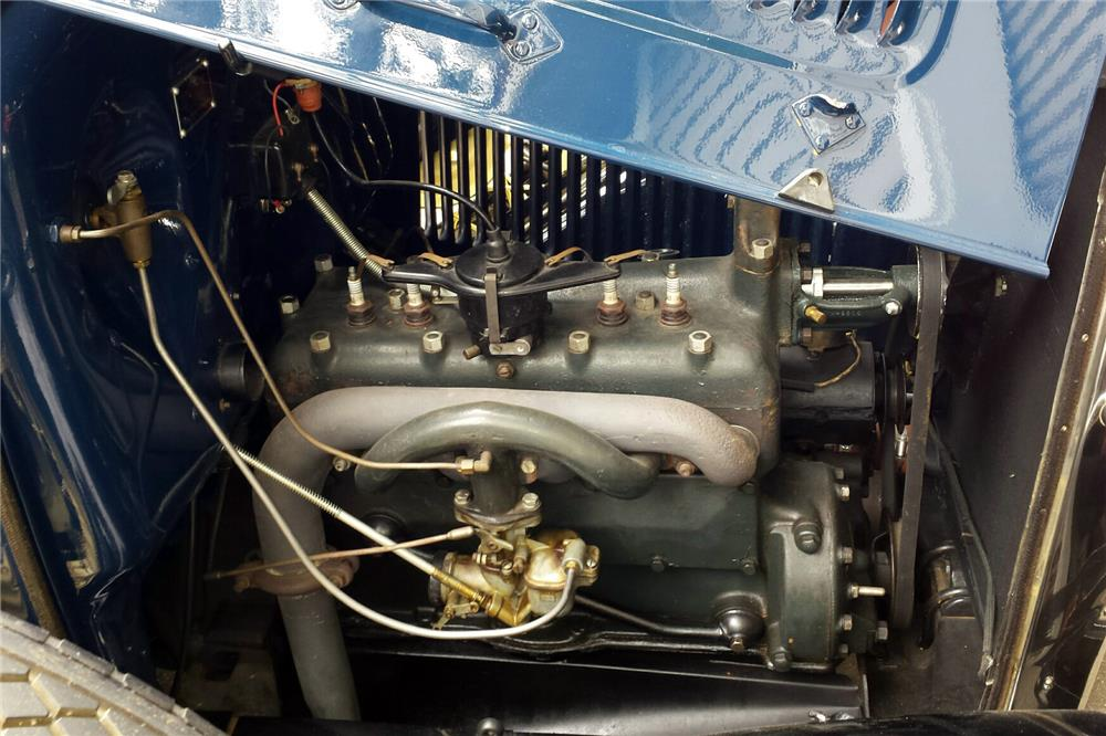 1931 FORD MODEL A SPORT COUPE - Engine - 186846
