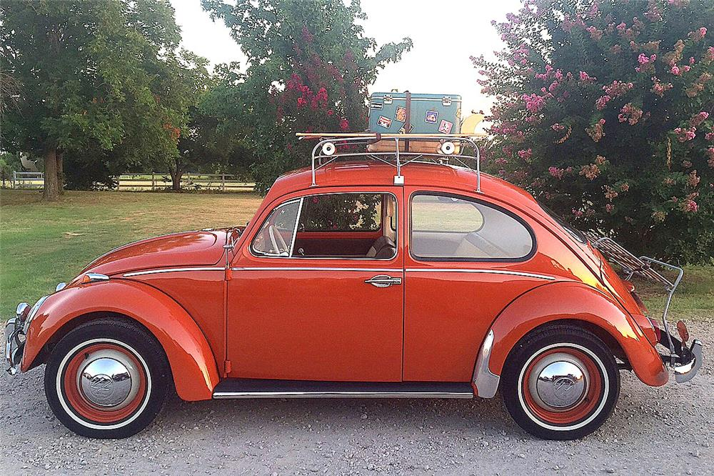1965 VOLKSWAGEN BEETLE TYPE 1 - Side Profile - 186849