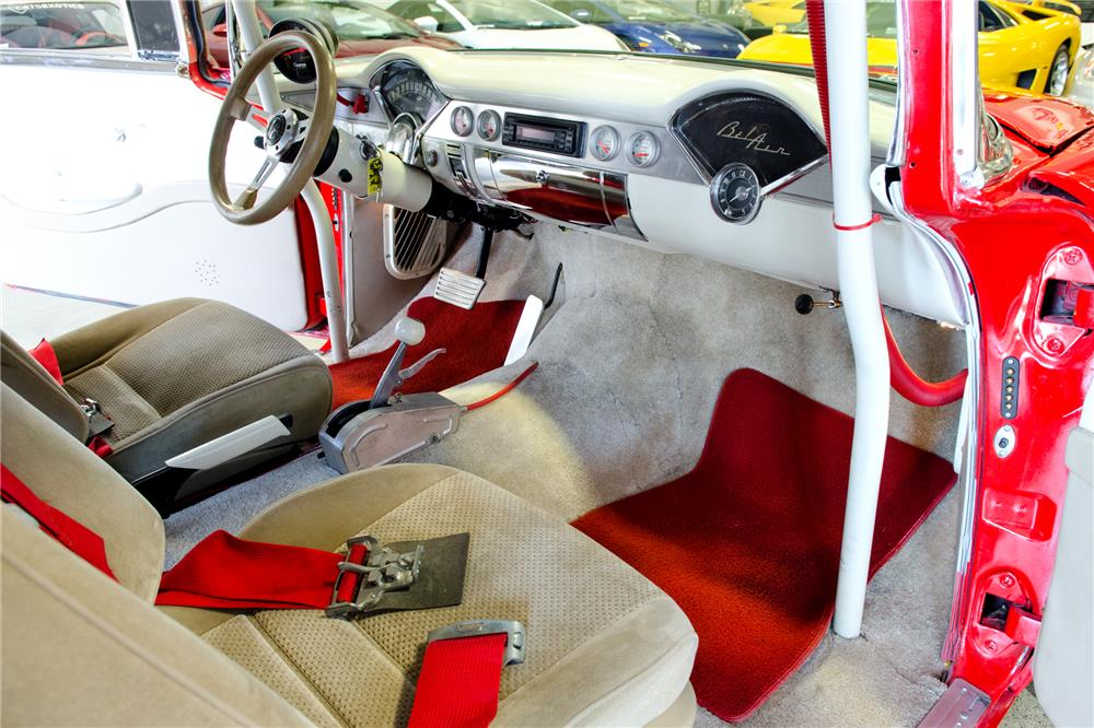 1956 CHEVROLET NOMAD CUSTOM WAGON - Interior - 186853