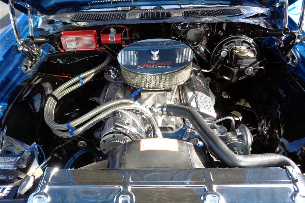 1969 CHEVROLET EL CAMINO PICKUP - Engine - 186862