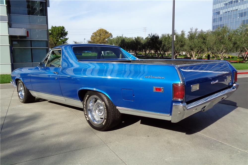1969 CHEVROLET EL CAMINO PICKUP - Rear 3/4 - 186862