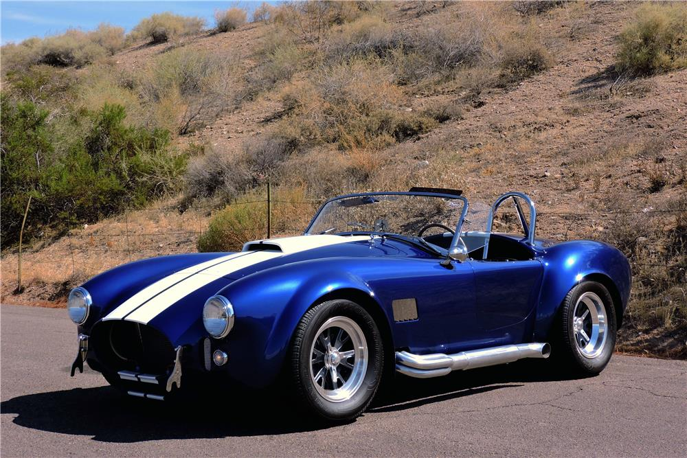 1965 SHELBY COBRA ROADSTER RE-CREATION - Front 3/4 - 186872