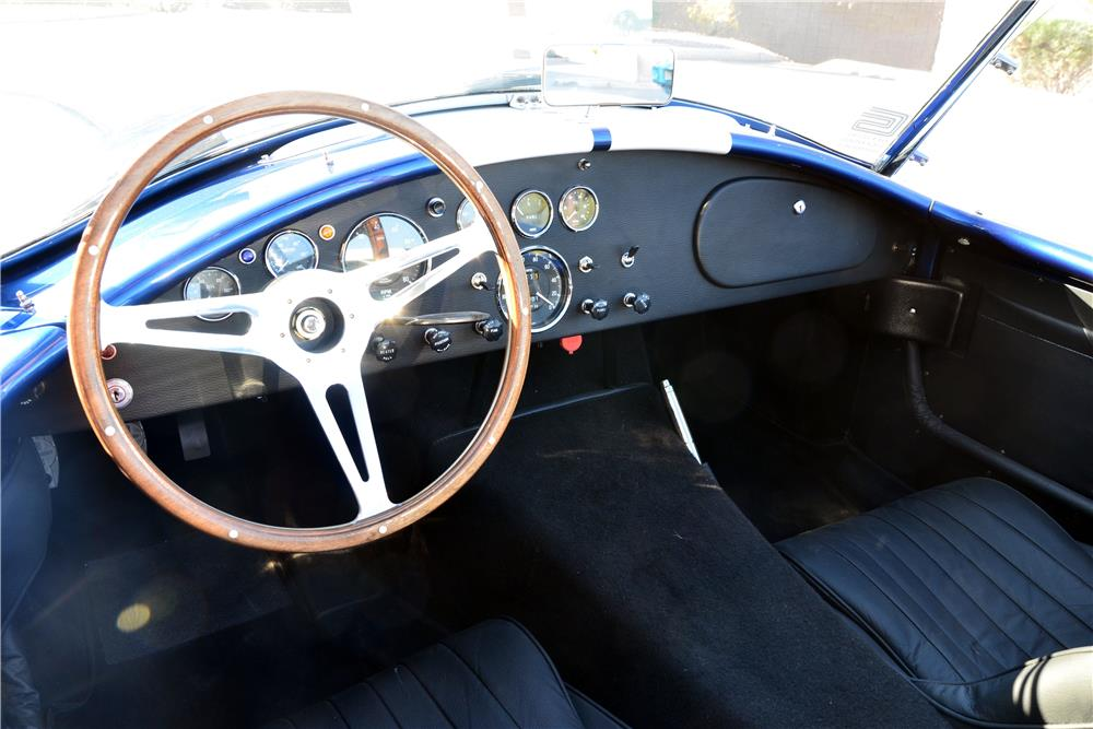 1965 SHELBY COBRA ROADSTER RE-CREATION - Interior - 186872
