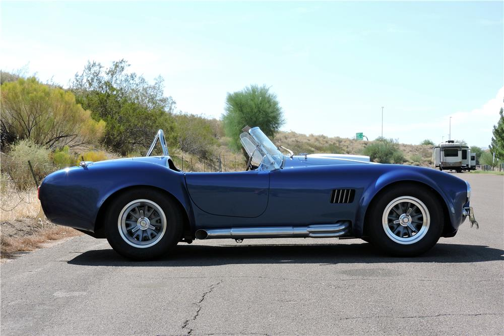 1965 SHELBY COBRA ROADSTER RE-CREATION - Side Profile - 186872