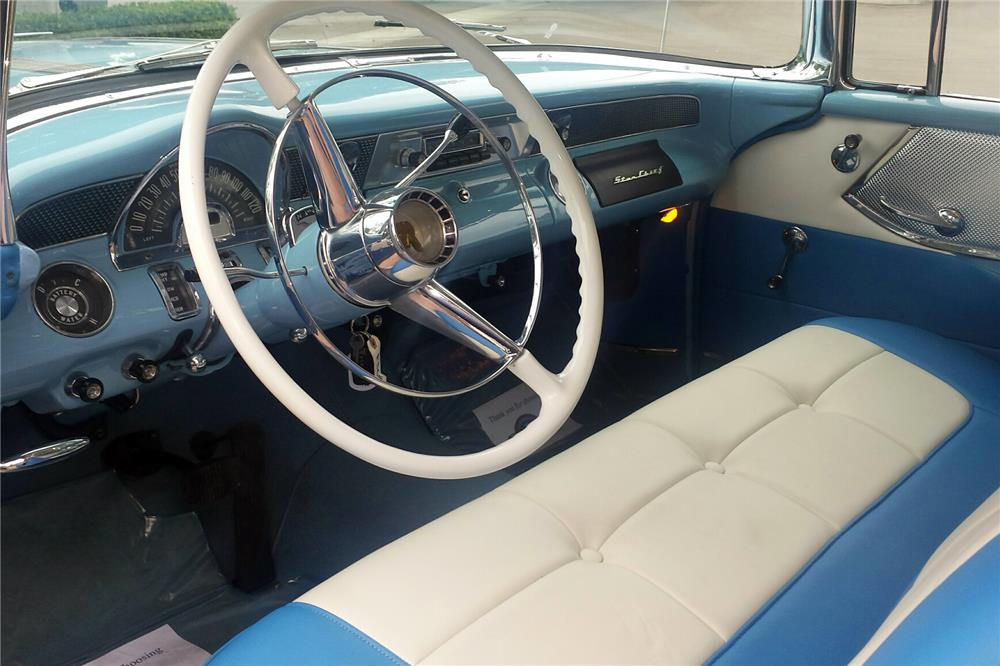 1955 PONTIAC SAFARI WAGON - Interior - 186896