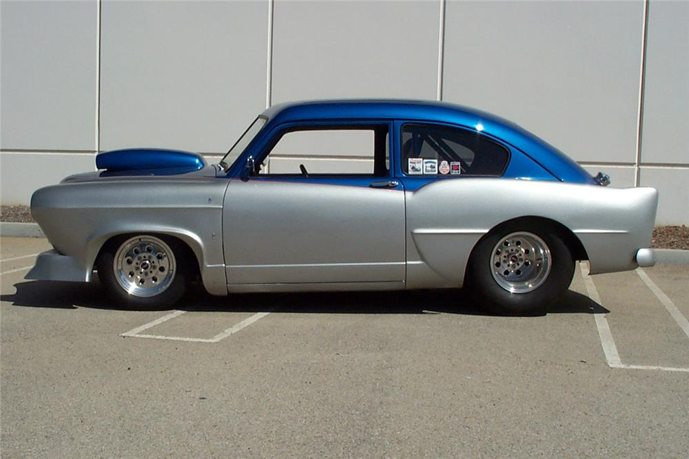 1952 KAISER CUSTOM COUPE - Side Profile - 186900