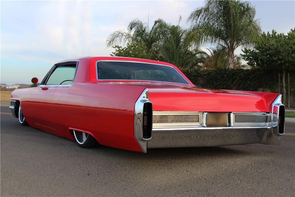 1965 cadillac coupe de ville custom coupe rear 3 4 186906. Cars Review. Best American Auto & Cars Review