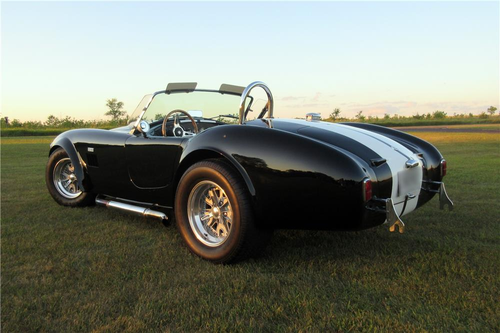 1964 SHELBY COBRA RE-CREATION ROADSTER - Rear 3/4 - 186914