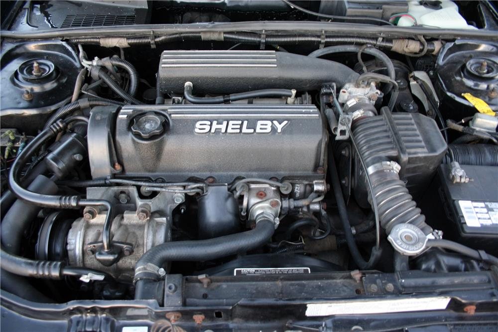 1987 DODGE CHARGER SHELBY  - Engine - 186920