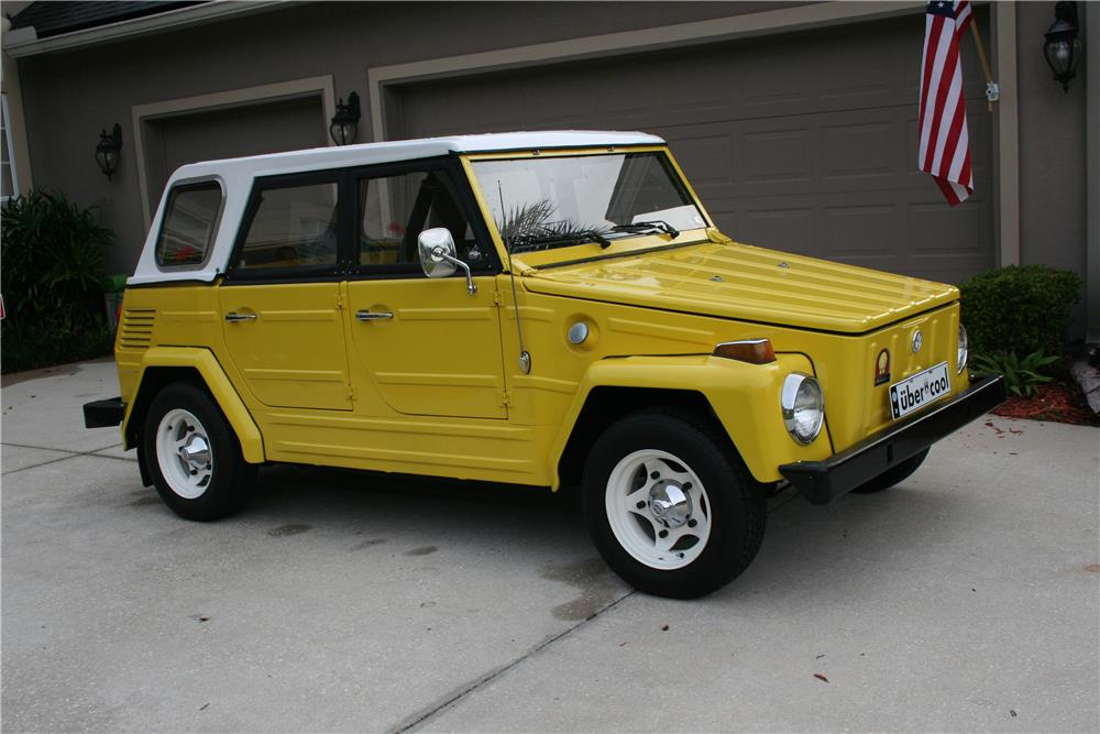 1973 VOLKSWAGEN THING  - Side Profile - 186926