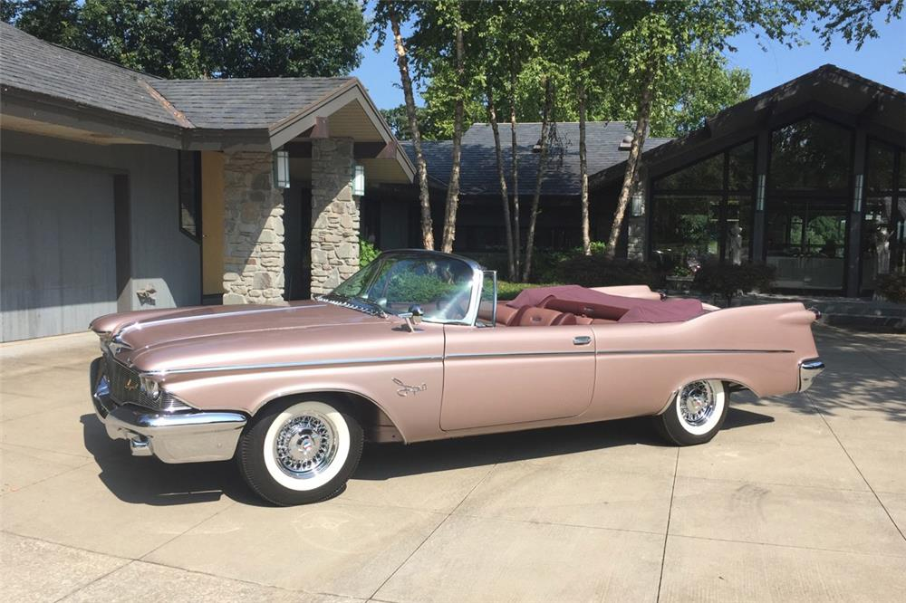 1960 chrysler imperial convertible front 3 4 186938. Cars Review. Best American Auto & Cars Review