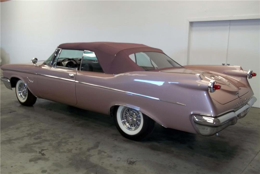 1960 chrysler imperial convertible rear 3 4 186938. Cars Review. Best American Auto & Cars Review