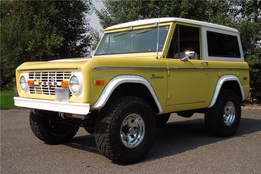 1973 FORD BRONCO 4X4 - Front 3/4 - 186939