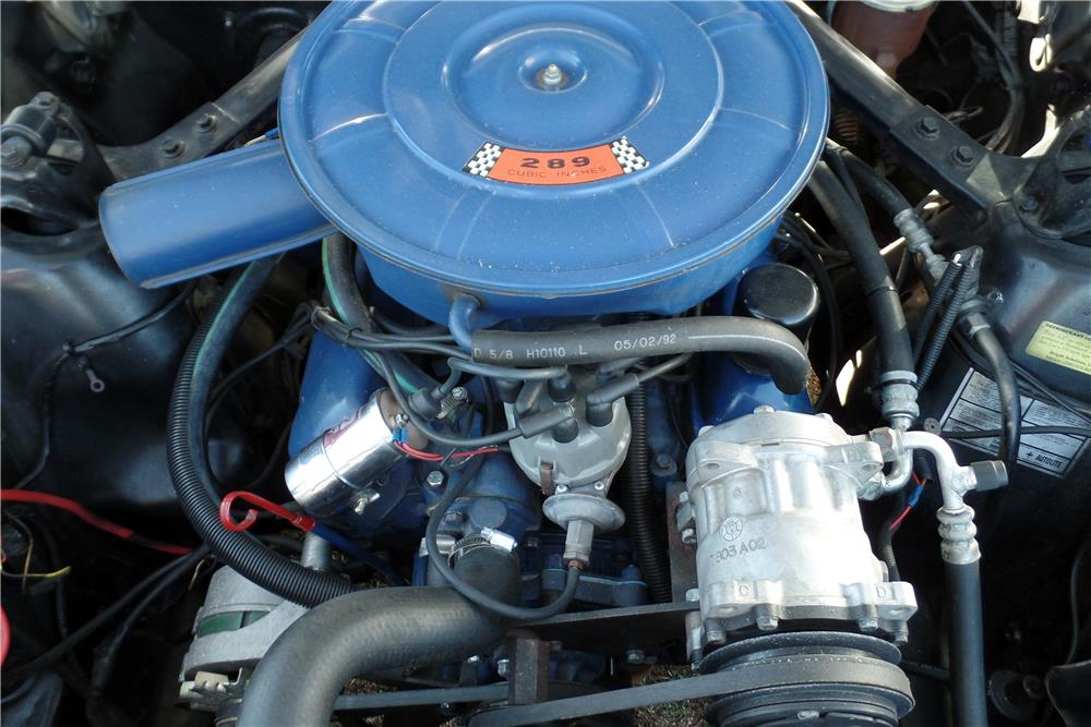 1968 FORD MUSTANG - Engine - 186940