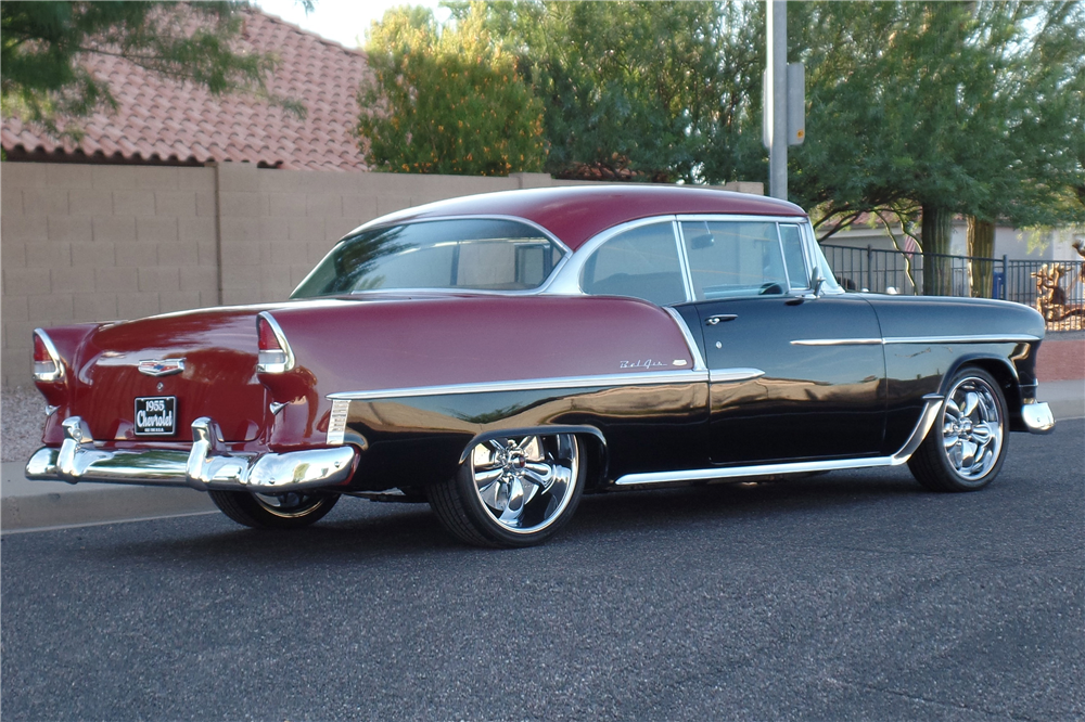 1955 Chevrolet Bel Air Custom 186944