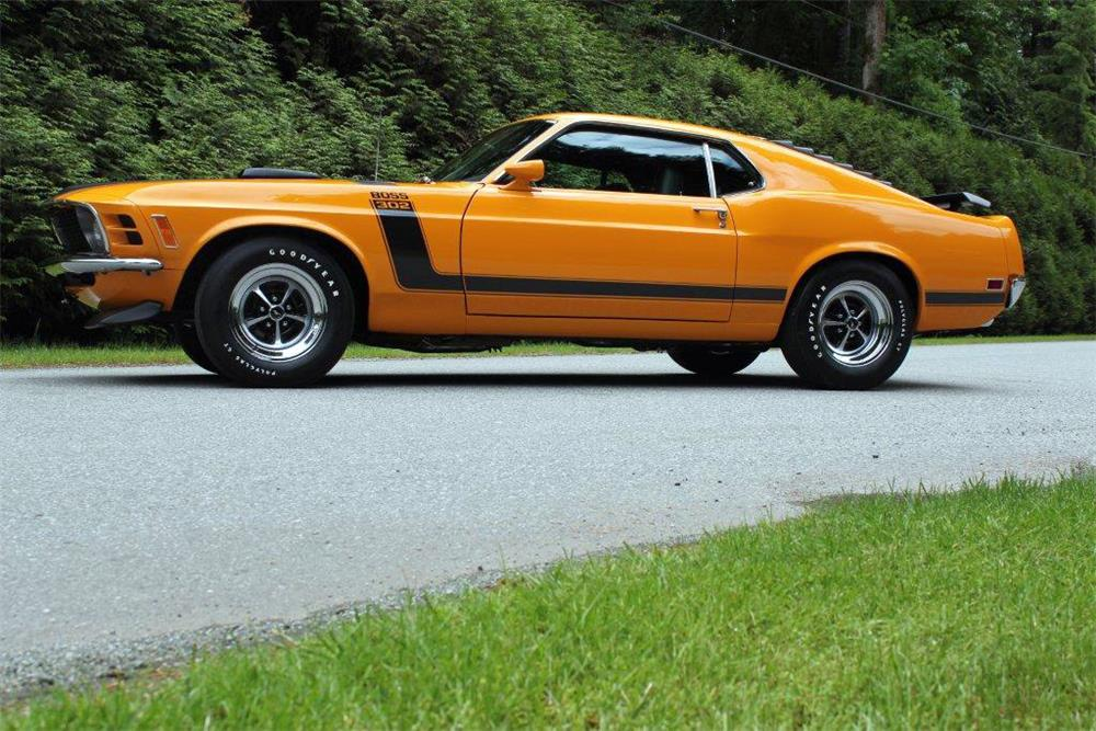 1970 FORD MUSTANG BOSS 302 - Front 3/4 - 186958