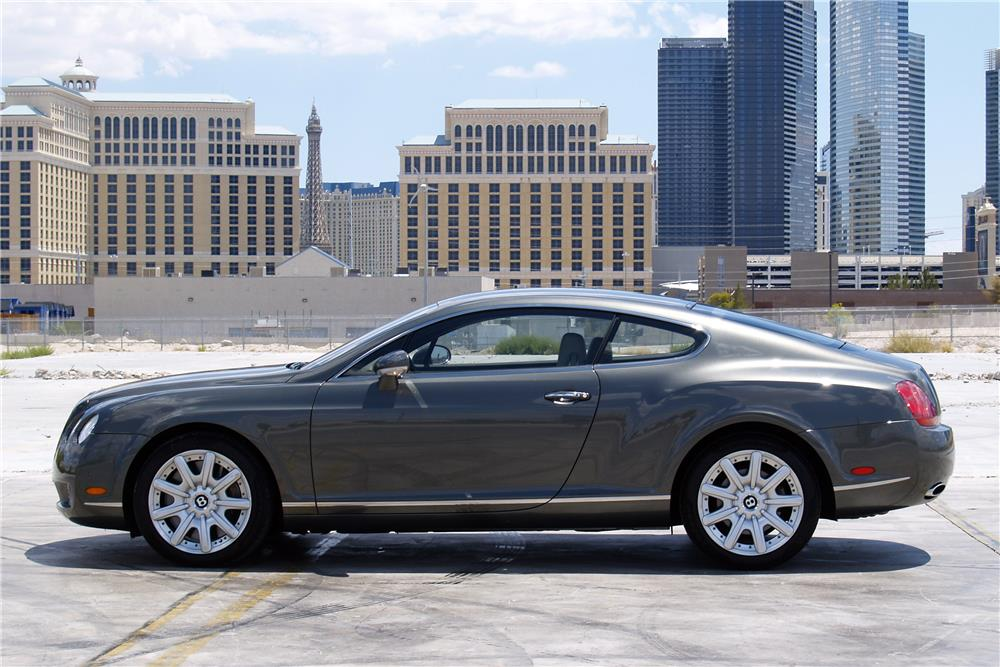 2005 BENTLEY CONTINENTAL GT  - Side Profile - 186966