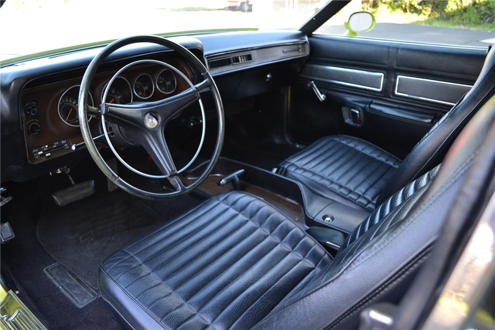 1971 PLYMOUTH ROAD RUNNER - Interior - 186969
