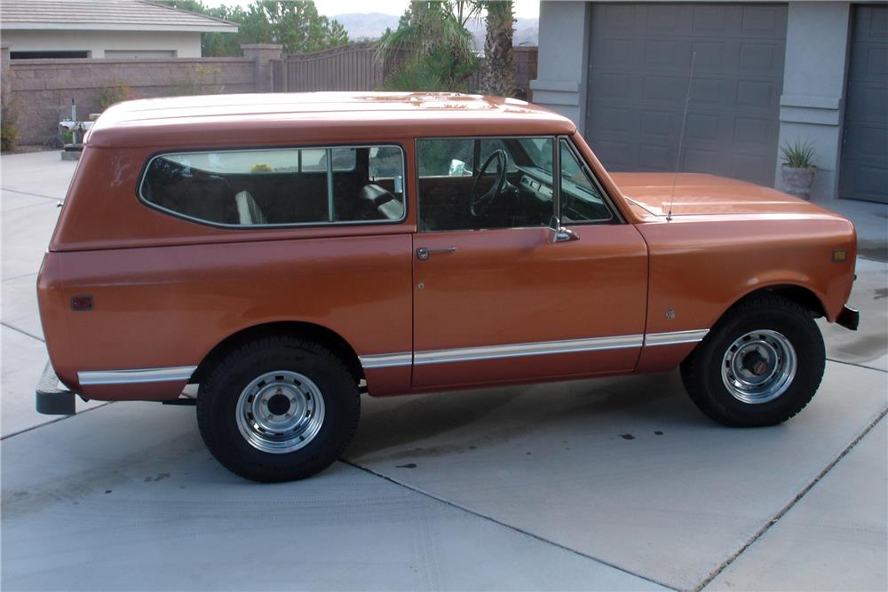 1979 INTERNATIONAL SCOUT II SUV - Front 3/4 - 186980