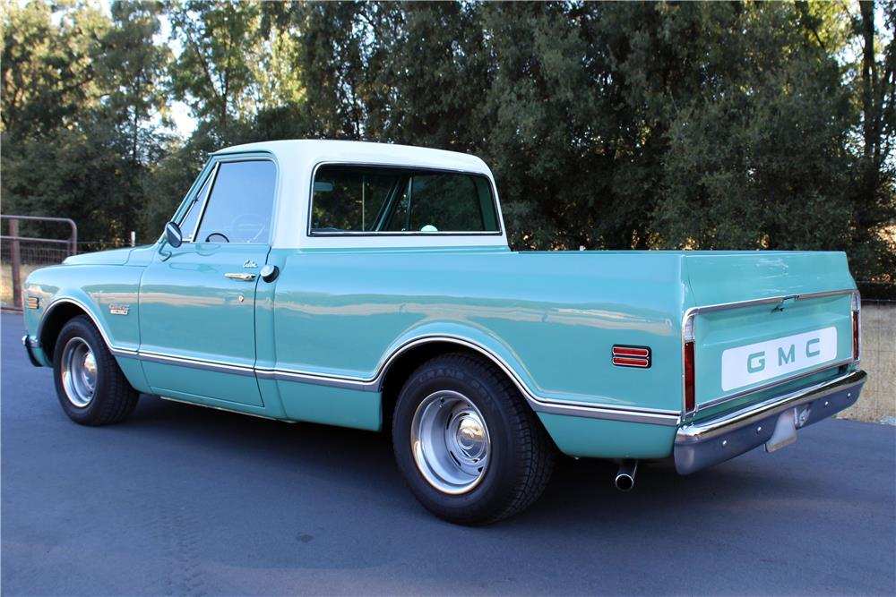 1968 GMC 1500 CUSTOM PICKUP - Rear 3/4 - 186983