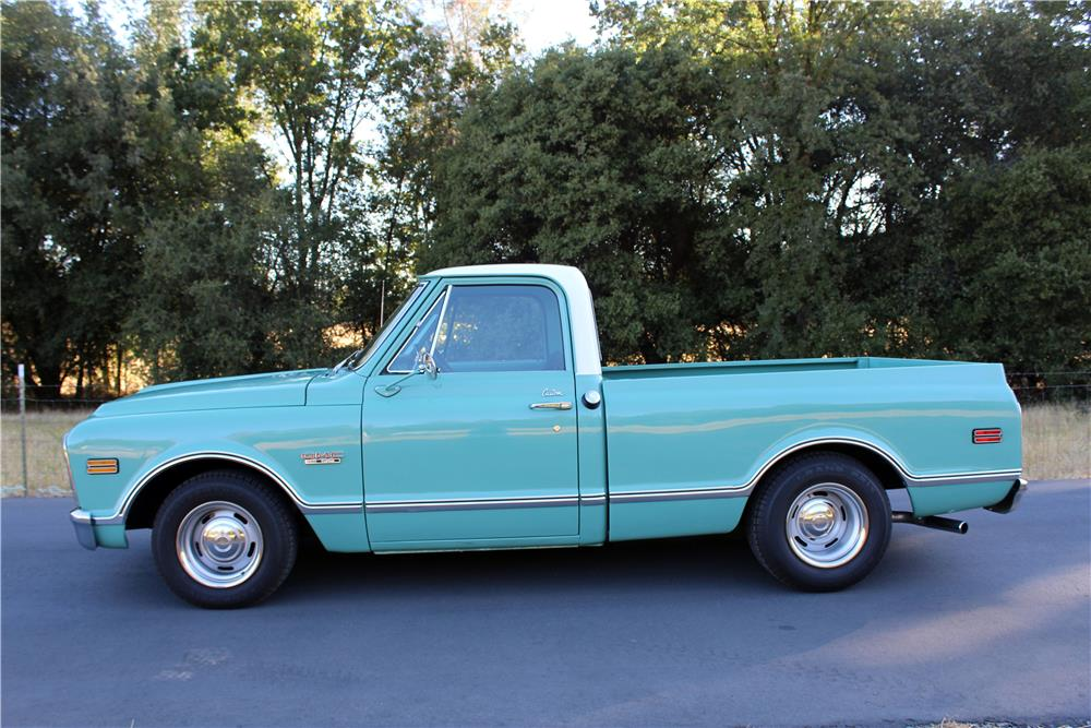 1968 GMC 1500 CUSTOM PICKUP - Side Profile - 186983