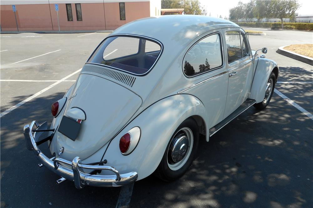 1966 VOLKSWAGEN BEETLE  - Rear 3/4 - 186987