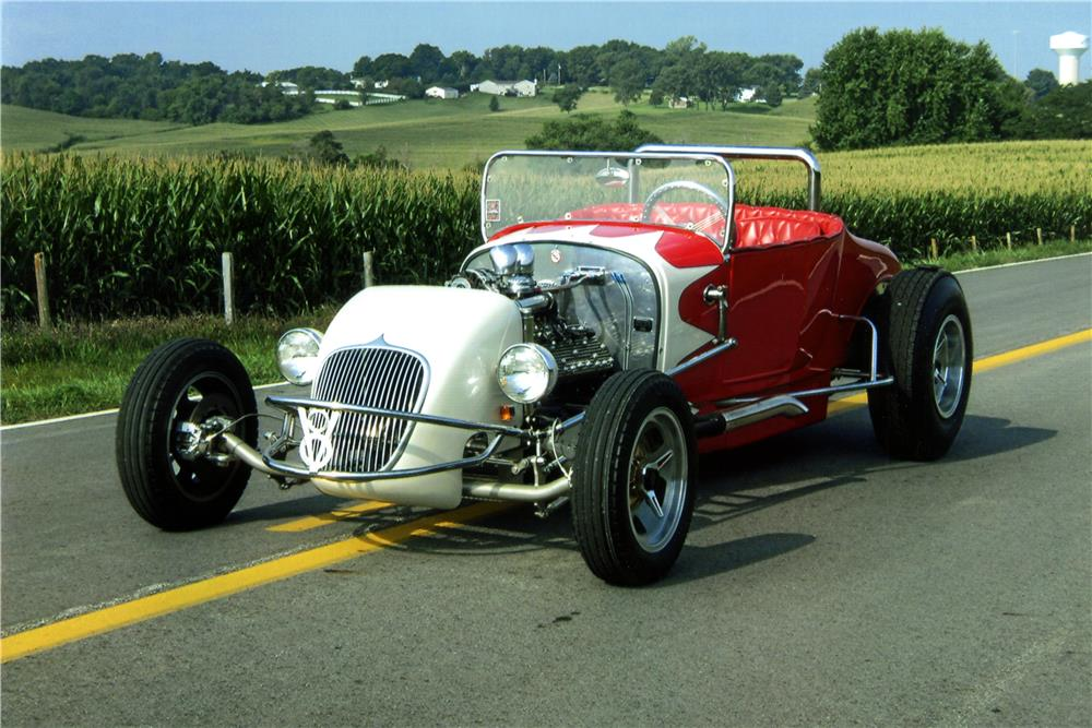 1925 FORD CUSTOM ROADSTER - Front 3/4 - 186988