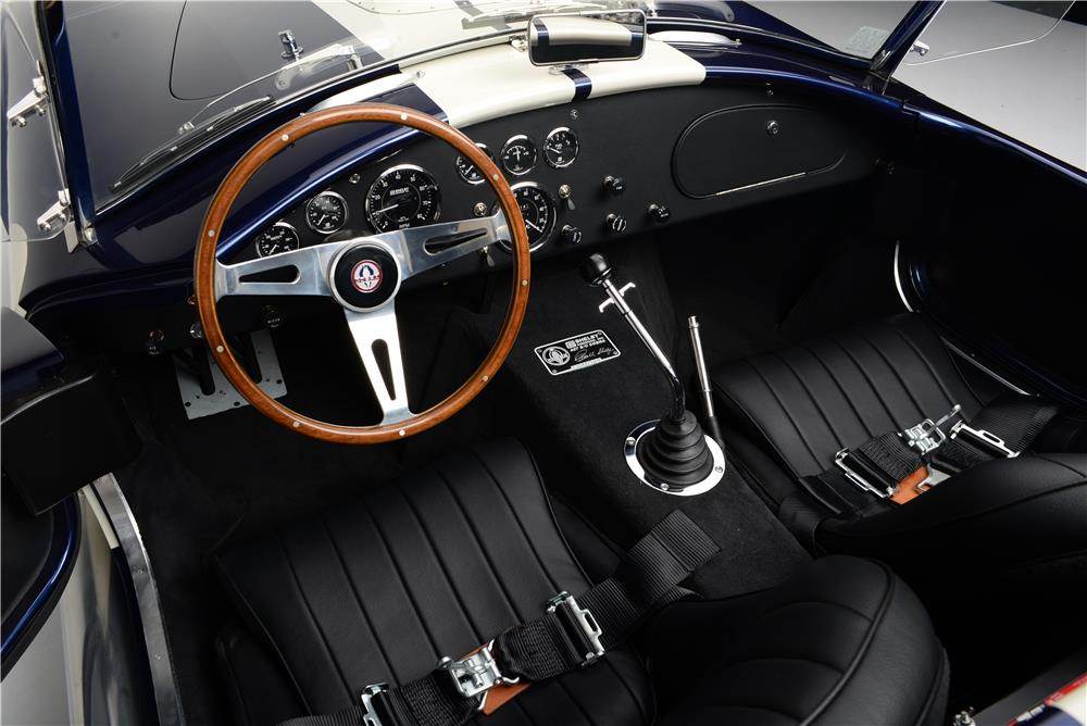 1965 SHELBY COBRA CSX 6000 ROADSTER - Interior - 186994