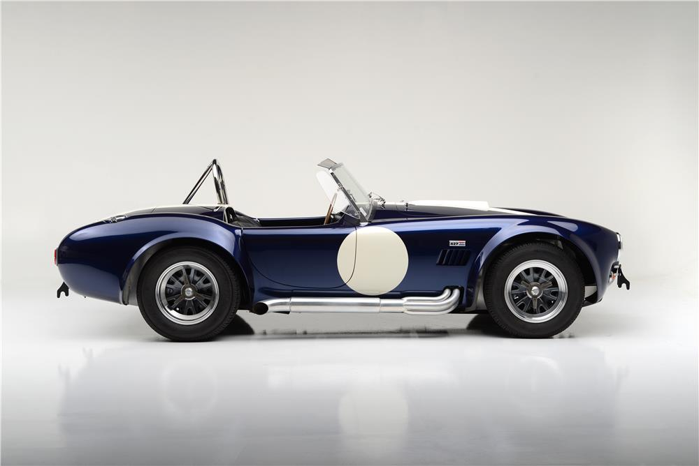 1965 SHELBY COBRA CSX 6000 ROADSTER - Side Profile - 186994