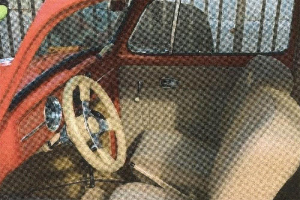 1967 VOLKSWAGEN BEETLE CUSTOM SEDAN - Interior - 187006
