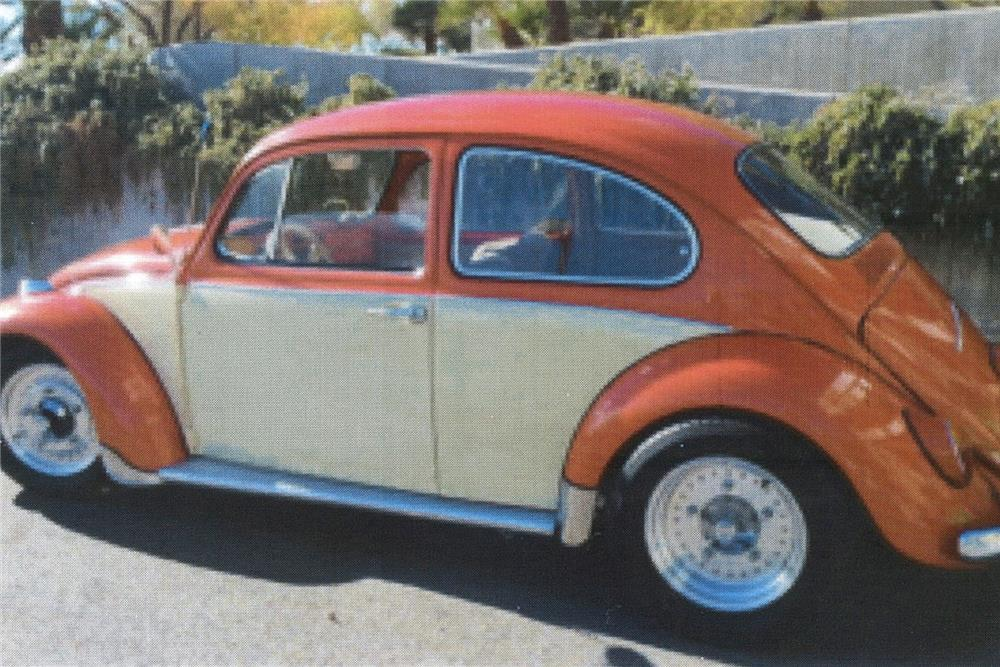 1967 VOLKSWAGEN BEETLE CUSTOM SEDAN - Side Profile - 187006