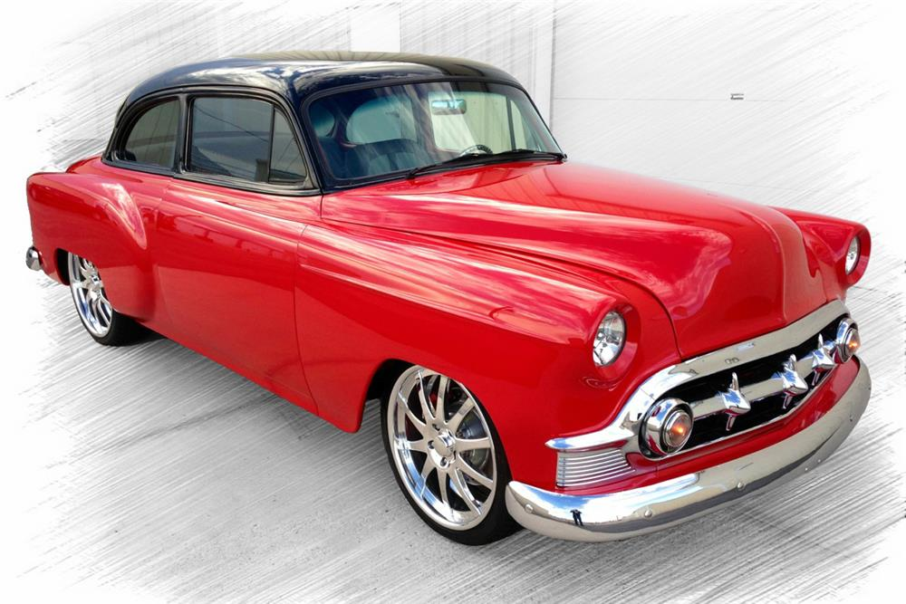 1953 CHEVROLET 210 CUSTOM COUPE - Front 3/4 - 187012