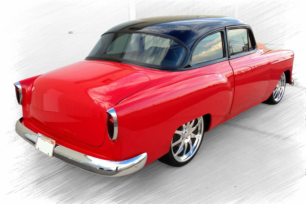 1953 CHEVROLET 210 CUSTOM COUPE - Rear 3/4 - 187012