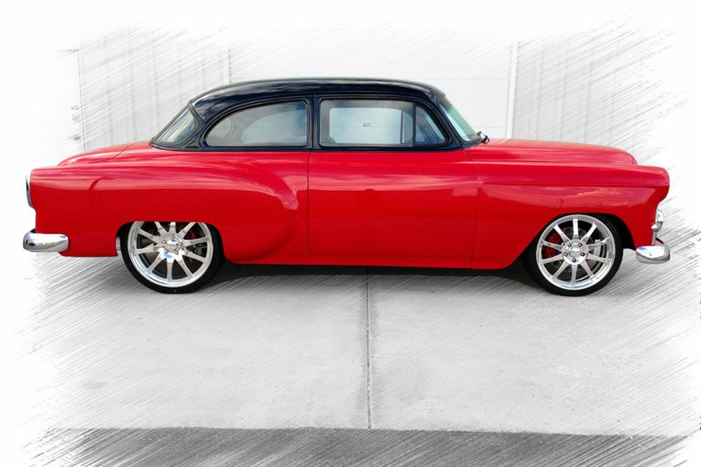 1953 CHEVROLET 210 CUSTOM COUPE - Side Profile - 187012
