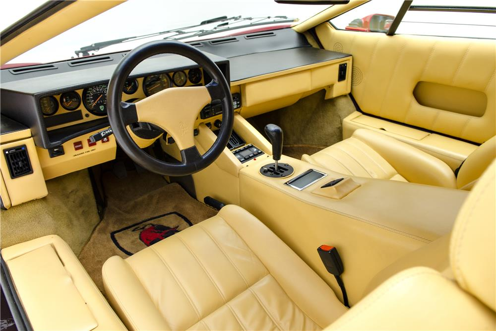 Amazing 1989 LAMBORGHINI COUNTACH 25TH ANNIVERSARY   Interior   187016 ...